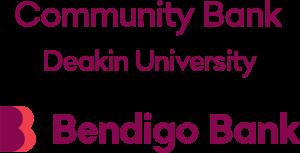 Community Bank Deakin University - Bendigo Bank - Logo